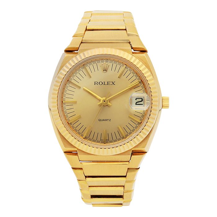 """Rolex's first quartz watch, the reference 5100, nicknamed """"The Texan"""""""