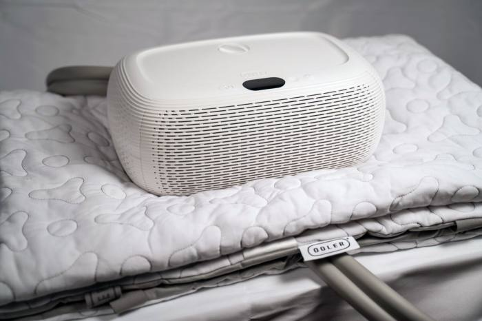 Chilisleep's Ooler system allows you to take control of your bed temperature