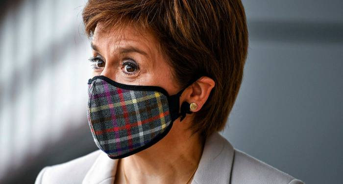 While Nicola Sturgeon's poll ratings have soared during the coronavirus crisis, YouGov polling gave Boris Johnson an approval rating in Scotland of minus 51