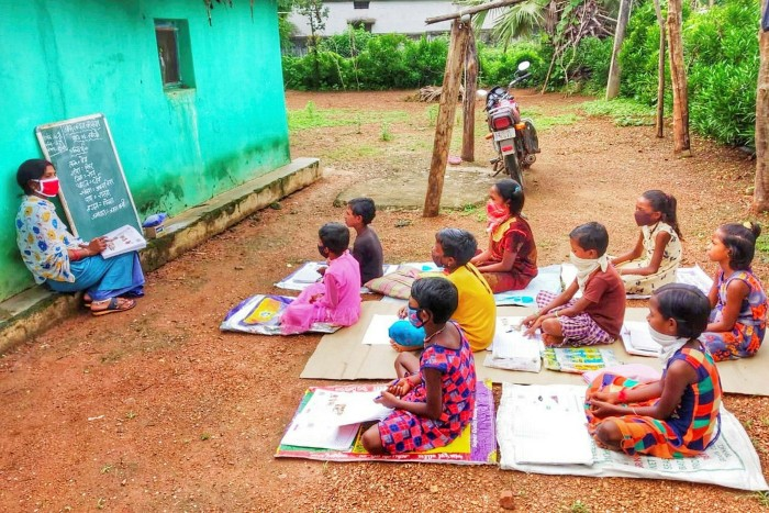 Pratham Education Foundation uses the 'Teach at the right level' approach to bring students up to age-appropriate standards
