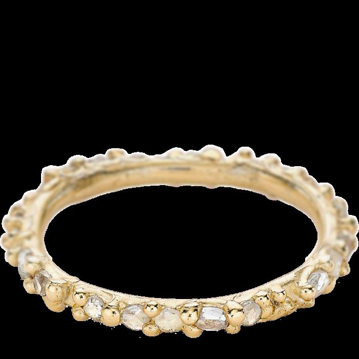 Ruth Tomlinson gold and diamond Eternityring, £1,600