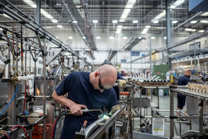 Brompton's factory in London. 'We've more demand than we can make', said its chief executive