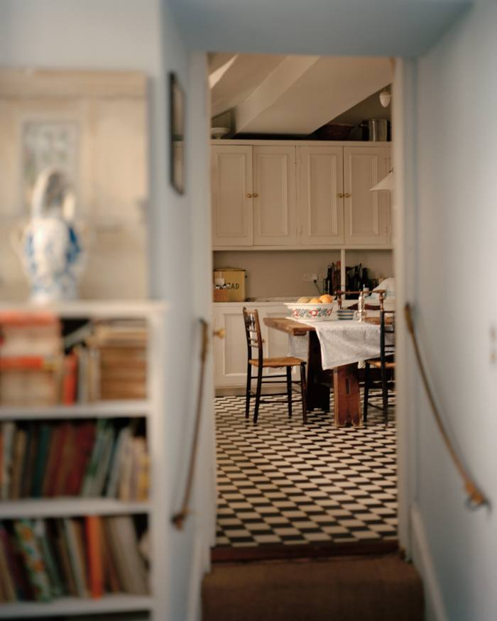 Much of the family's time is spent in the kitchen with its Aga