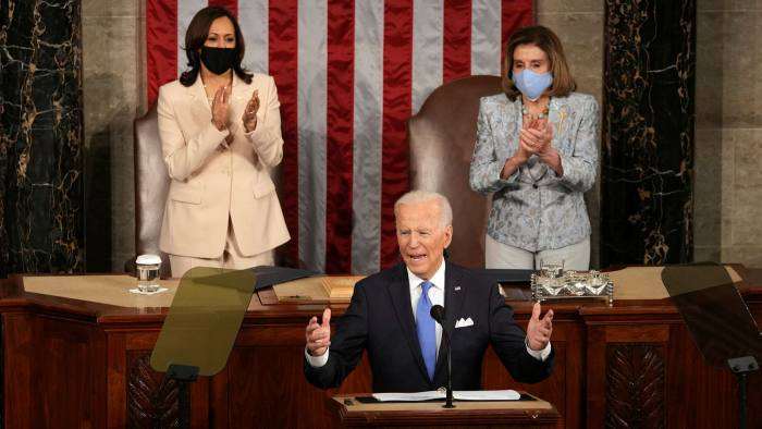 Biden declares US is 'ready for take-off' in speech to Congress | Financial  Times