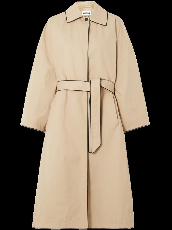 Balenciaga coat, £2,175