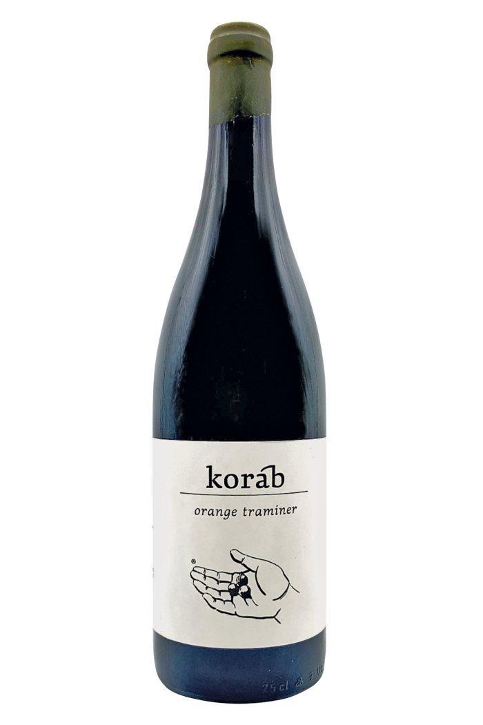 Czech Republic: Petr Korab Orange Traminer, 2019. Elegant and citrusy, with an oily lemon-verbena character – this would be a nice counterpoint to pale,creamy cheese.€22, from morenaturalwine.com