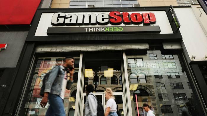 GameStop shop front