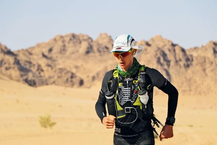 Scholes ona five-day 250km marathon in Jordan's Wadi