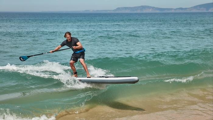 An increasing number of enthusiasts are taking to water sports
