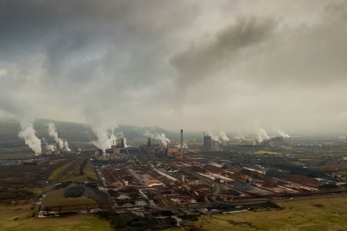 Tata needs to decide whether it keeps funding its UK steel business or cuts its losses by closing Port Talbot (pictured)