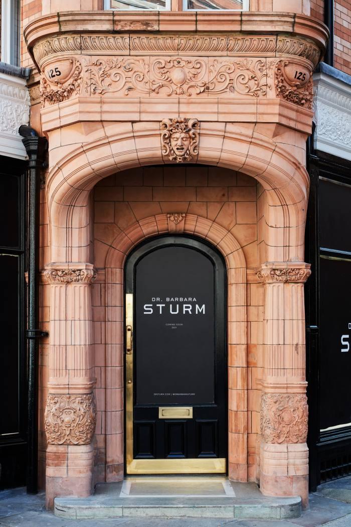 Sturm's new London flagship at 125 Mount Street