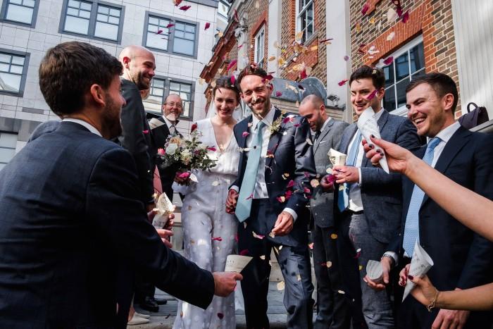 Mariage de Stephanie Rimmer et Andrew Wilson