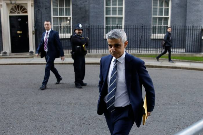 Sadiq Khan was among those urging Johnson to start closing down London in mid-March