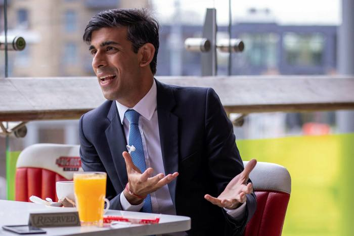 Rishi Sunak, chancellor, announced the Help to Grow scheme in the March Budget