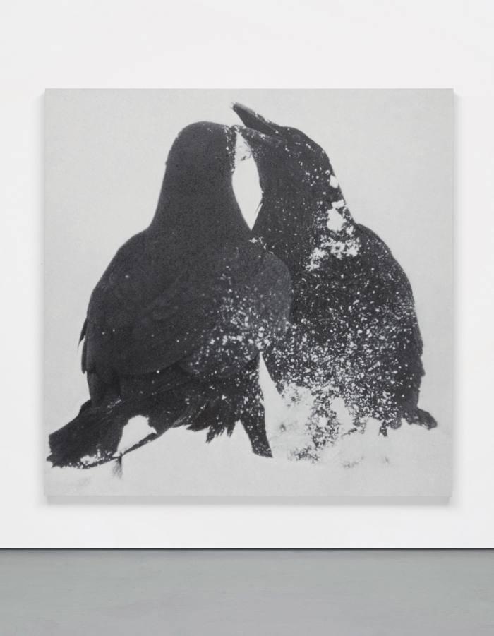 Untitled, 2015, by Rudolf Stingel