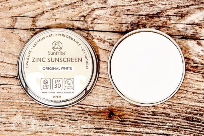 Suntribe All Natural Zinc Sunscreen Face & Sport SPF 30, £14.99