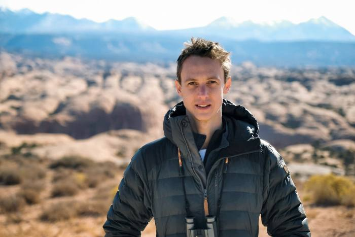 HTSI adventurer Fergus Scholes