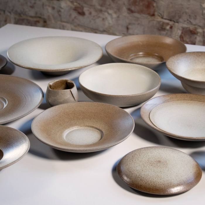 L'Enclume tableware by Norwegian makers Odd Standard, POA from Kinn Collective