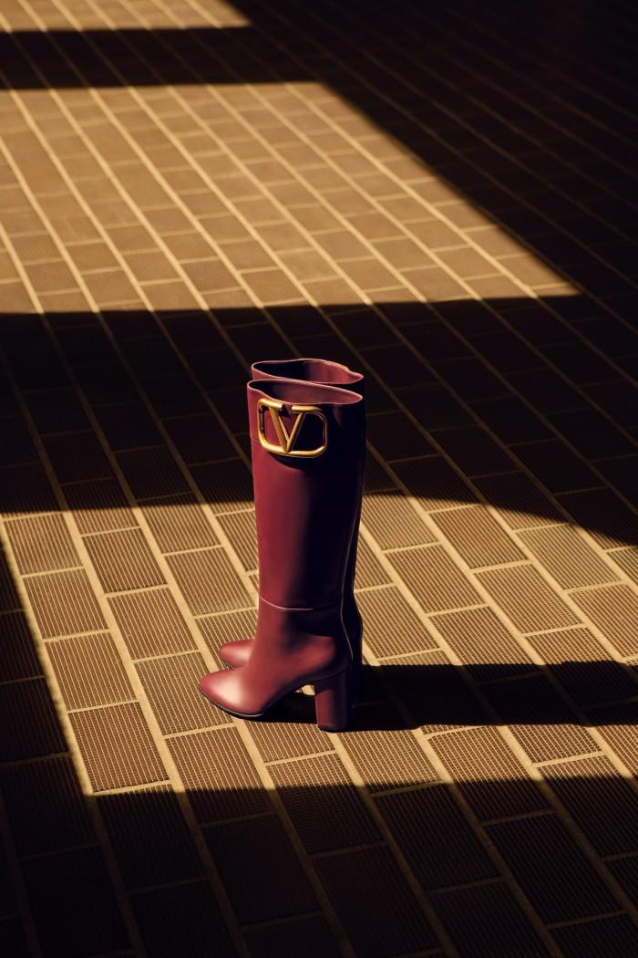 Valentino Garavani leather boots, £1,370