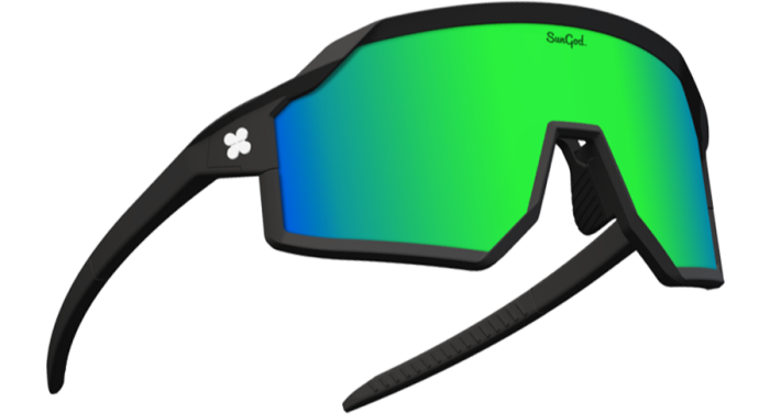There are more than 4,000 customising options for SunGod's cycling sunglasses