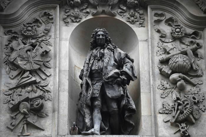 A statue of Sir John Cass in London.