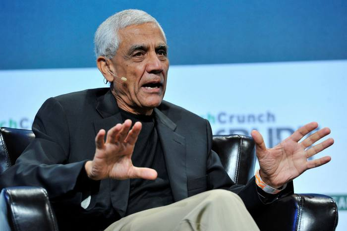 Khosla believes clean energy technologies could create companies as profitable as Google, Apple and Facebook, which have themselves become big investors in clean energy