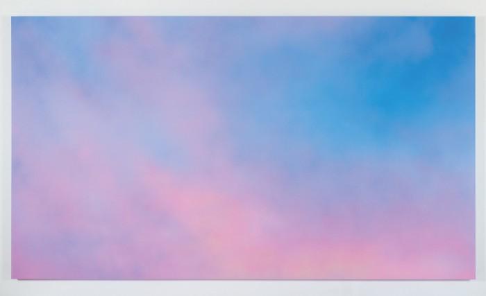 Alex Israel's Sky Backdrop, 2012