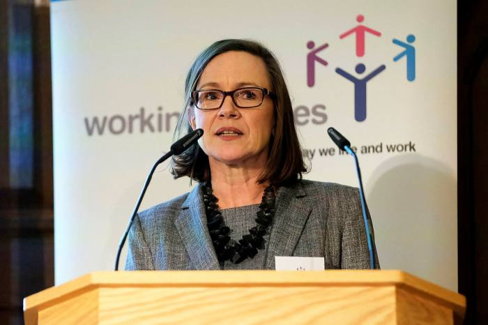 Jane van Zyl, chief executive of Working Families: 'There's no going back to business as usual after Covid-19'