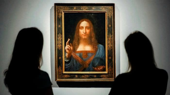 'Salvator Mundi' sold for $ 450 million in 2017, but it is still up for debate over whether the painting is purely the work of Leonardo da Vinci.