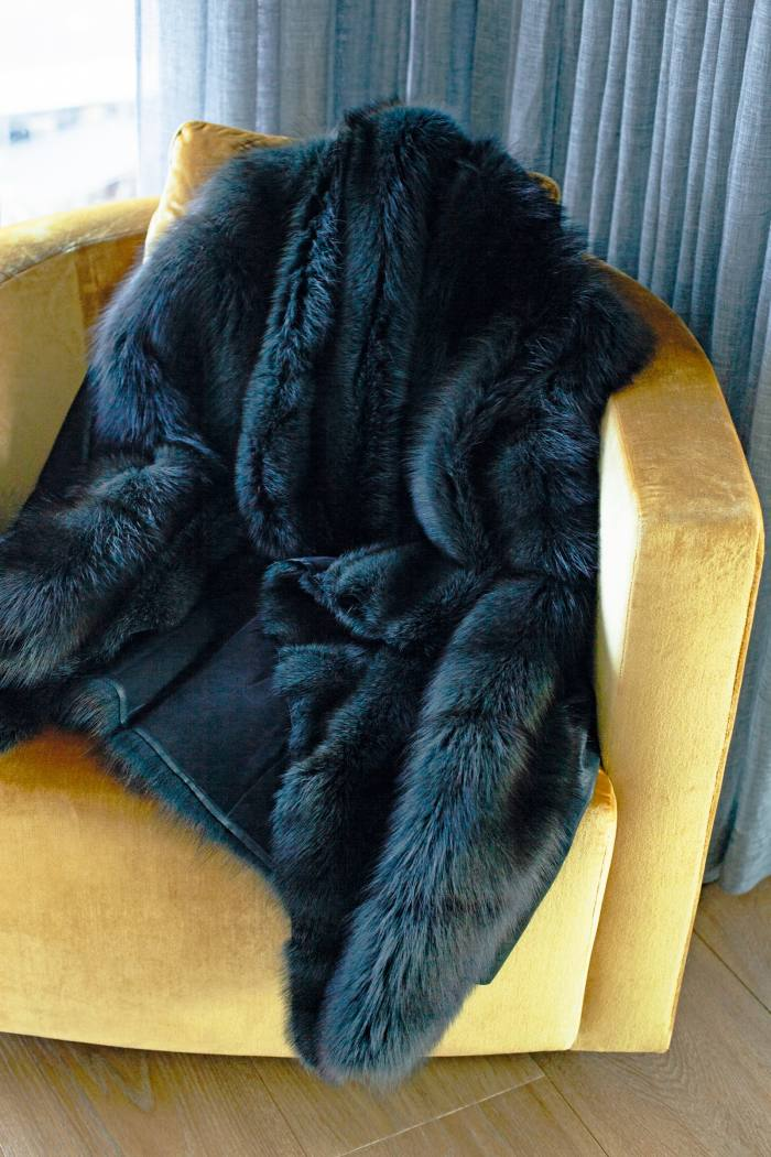 Half-leather/half-fur coat by Jitrois – a recent purchase
