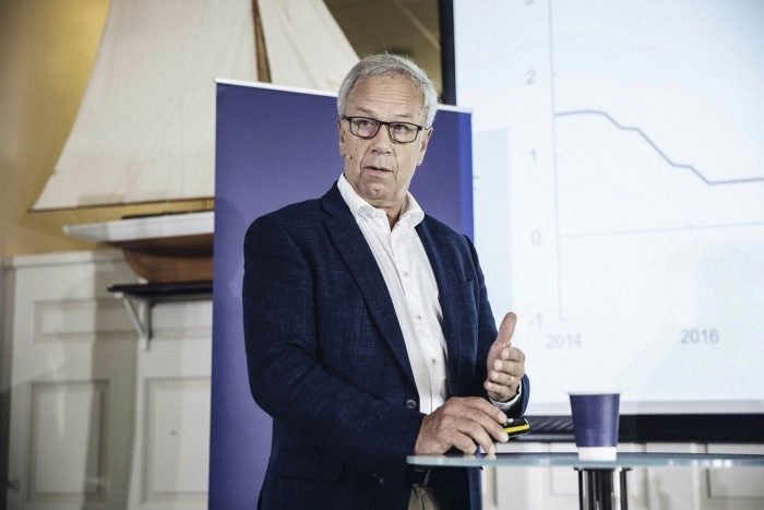 Oystein Olsen, governor of Norway's central bank: 'A normalising economy now suggests that it is appropriate to begin a gradual normalisation of the policy rate'