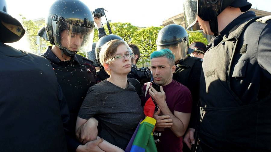 Lgbt Activists Denounce Putin S War On Liberal Values Financial Times