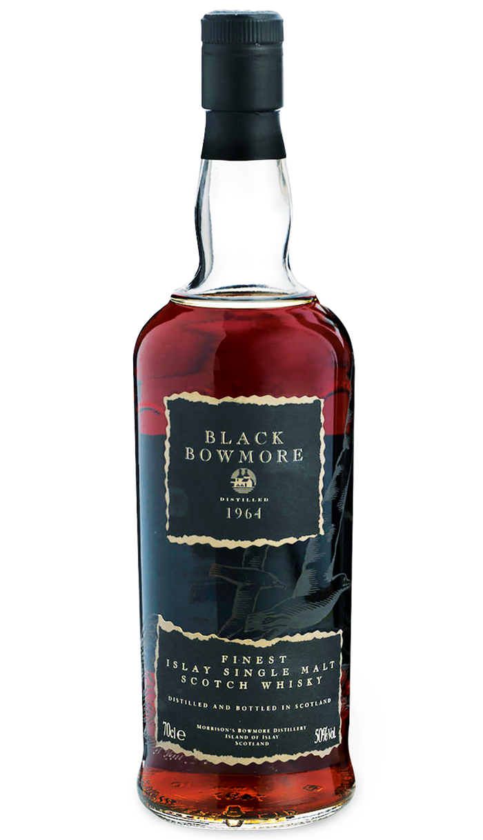 Black Bowmore 1964 2nd Edition, £22,500, thewhisky exchange.com
