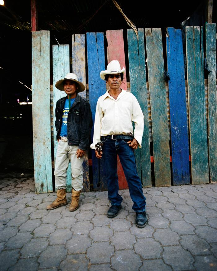Cowboys at the festival in Acoyapa