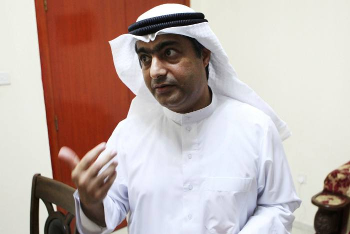 Ahmed Mansoor, an Emirati human rights activist jailed in 2018. Activists have alleged his phone was targeted by the security services using spyware produced by Israeli firm NSO Group