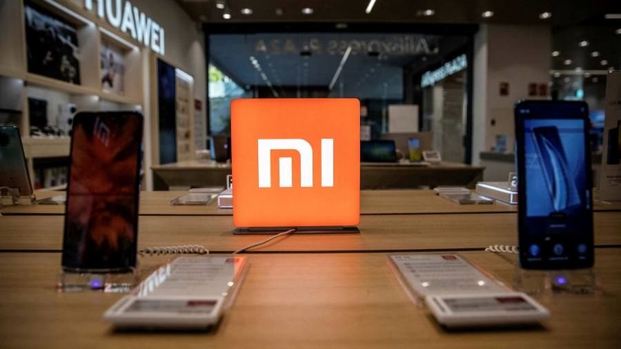 Image of article 'Shares in China's Xiaomi tumble after US investment ban'