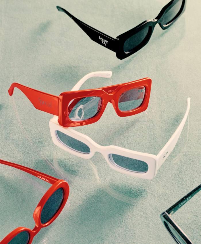Christopher Kane The More Joy x LeSpecs unisex sunglasses, £75, christopherkane.com