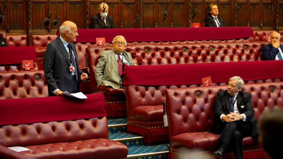 Boris Johnson faces Brexit bill defeat at pivotal moment