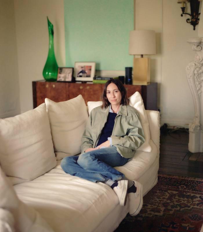 Gia Coppola at home in California