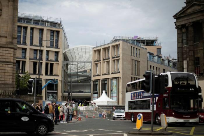 The St James Quarter redevelopment of Edinburgh contains 152 luxury homes
