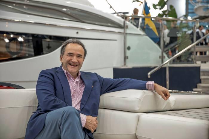 Princess Yachts CEO Anthony Sheriff says market is