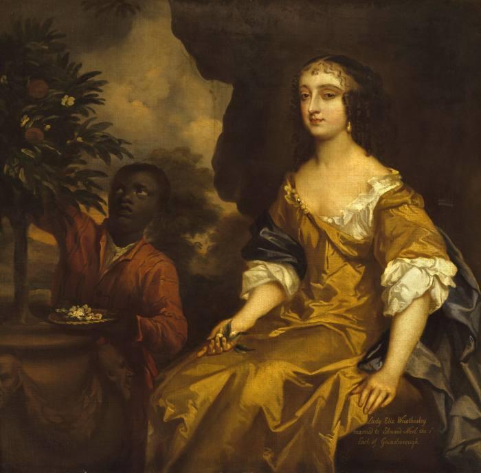Sir Peter Lely's portrait ofLadyElizabeth Wriothesley