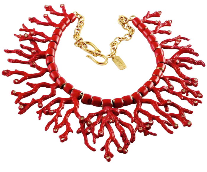 1980 Yves Saint Laurent by Goossens necklace, £1,040 from 1stdibs