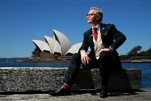 Paul Feig in Sydney