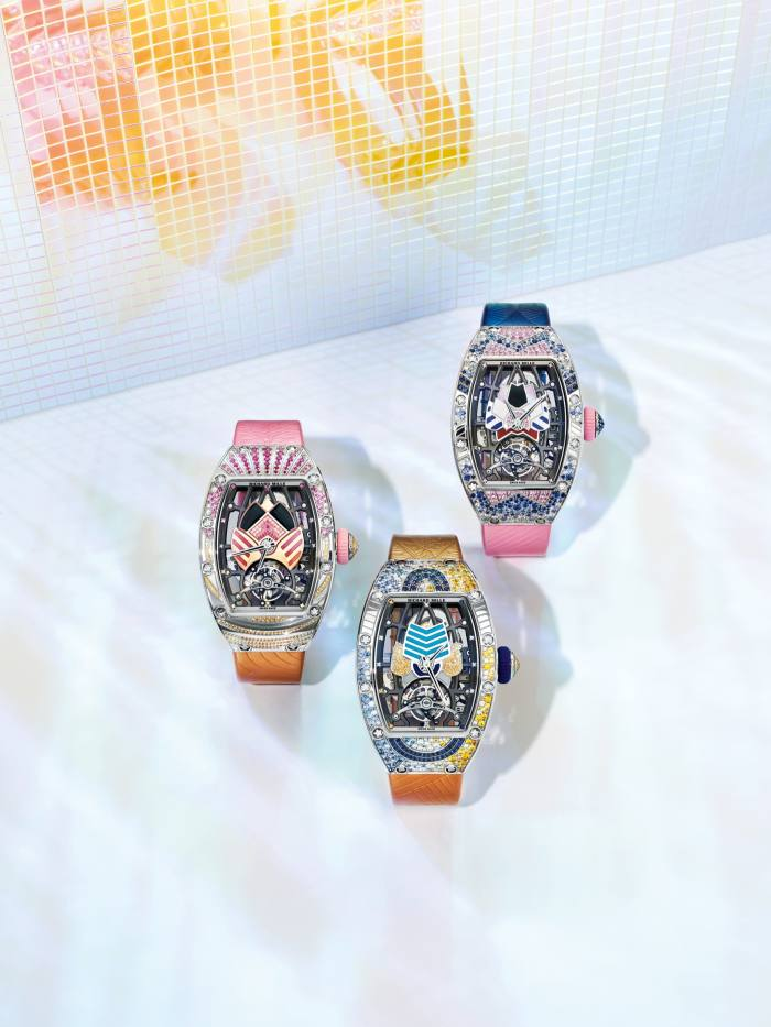 The Jessica, Paloma and Donna limitededitions, SFr490,000 (about £415,000) each