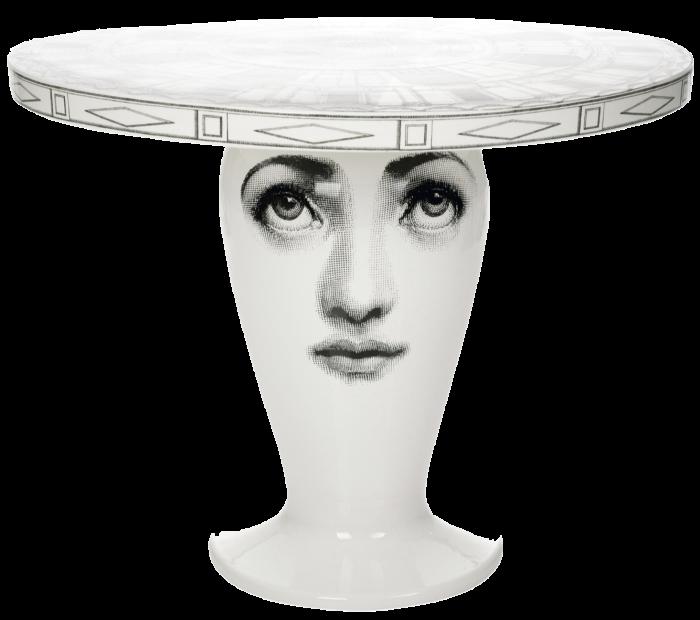 Fornasetti porcelain Architettonico table, £1,500