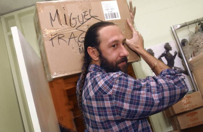 Miguel Adrover, seen here in 2004, was the toast of the New York fashion scene at the turn of the century