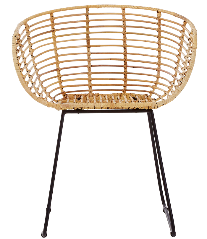 Hill Rise rattan Leblon Tiger chair, £149, latzio.com
