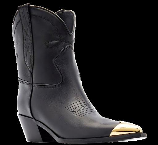 KHAITE leather Fontana ankle boots, $980, modaoperandi.com