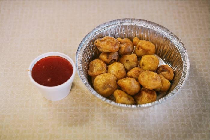 Sweet and sour pork balls